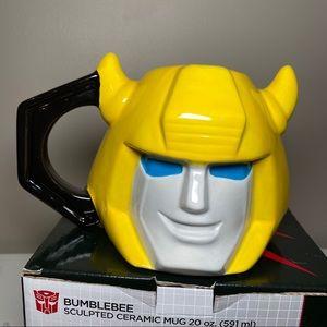 VANDOR Transformers Bumblebee Ceramic Sculpted Mug